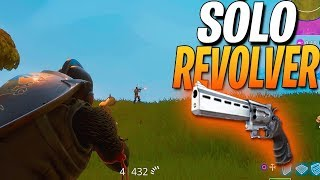 SÓLO REVOLVER! +15 Kills! Fortnite: Battle Royale