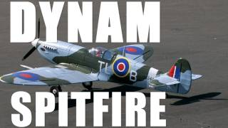 New Dynam 1200mm Spitfire Flight Review