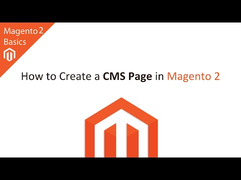 How to Create a CMS Page in Magento 2