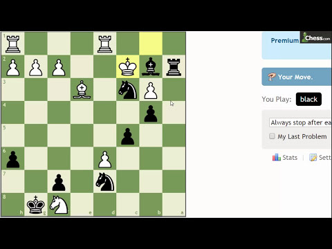 How to Solve Chess Puzzles #21