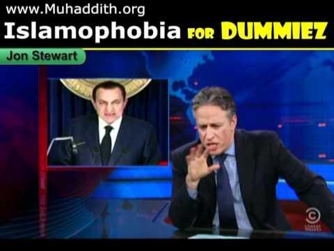 Hosni Mubarak EGYPT PROTEST P.2 Jon Stewart Colbert Show, Islam-ophobia 4 Dummies