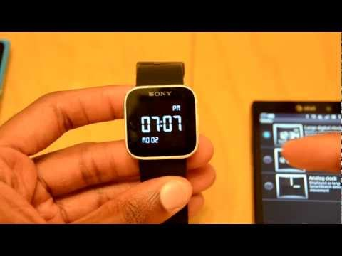 Sony Smartwatch (Android) Review