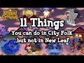 Lagu 11 Things You Can Do in City Folk But Not in New Leaf (Animal Crossing)