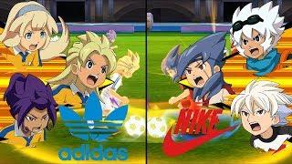 [Full HD 1080P] Inazuma Eleven All-Star Game ~ adidas vs NIKE ※Pokemon Anchor※
