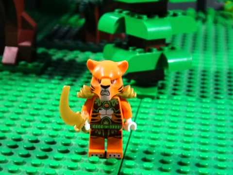 LEGO LEGENDS OF CHIMA - FIRE V'S ICE TIGERS V'S SABERTOOTH TIGERS