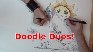 Doodle Duos ~ Strange Stories w/ Emily & Mr Nommers