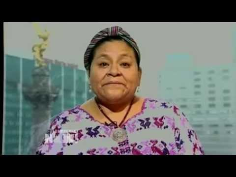 Nobel Laureate Rigoberta Mench Hails Genocide Conviction of Ex-Guatemalan Dictator Ros  Montt 2/2