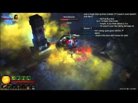 Diablo 3 – PS3 – Hardcore Inferno Master V – Solo Ubers Challenge