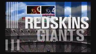 ESPN NFL 2K5 Washington Redskins Franchise Week 2