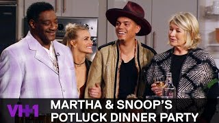 Snoop Dogg Invites His Uncle Rio To The Kitchen 'Sneak Peek' | Martha & Snoop's Potluck Dinner Party