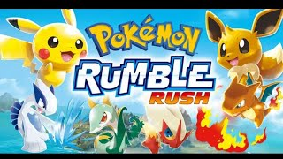 POKEMON RUMBLE RUSH : LE JEU 3DS SUR PORTABLE !