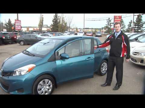 2012 Toyota Yaris Edmonton Review