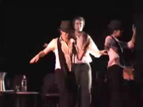 Ertebat concert - Baba Karam dance performance