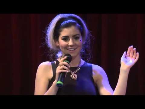(HD) Marina and the Diamonds - Interview (YouTube Presents 15/07/2012)