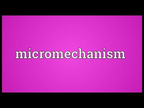 Header of Micromechanism