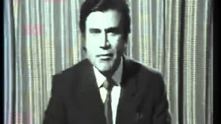 PTV first Announcement by Tariq Aziz 51 Years ago