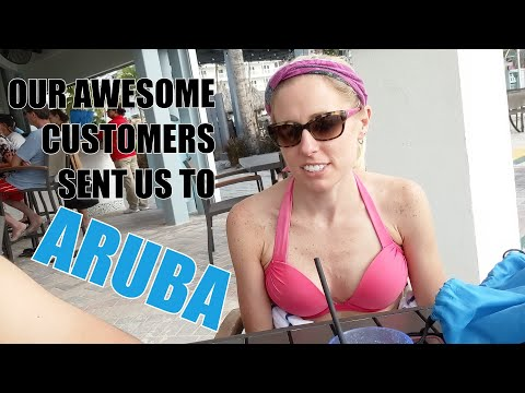 We Won A Trip To Aruba Thanks To Our AWESOME Customers! THANK YOU!