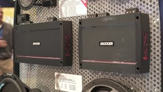 Kicker 2017 KX car amplifiers | CES 2017 | Crutchfield video