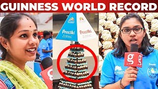 Cup Cake Tower Challenge Guinness World Record   Chennai