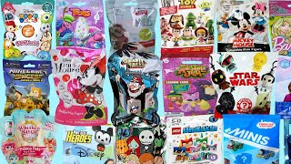 Blind Bags Opening Toy Surprises Minnie Mickey Mouse Ryans Jellies Disney Tsum 12 PJ Masks