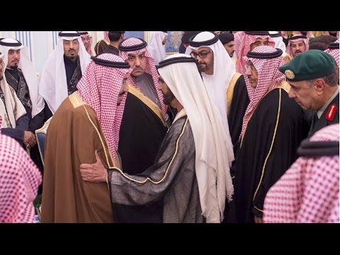 برئاسة محمد بن راشد.. وفد الدولة ينقل تعازي خليفة وشعب الإمارات إلى ملك السعودية
