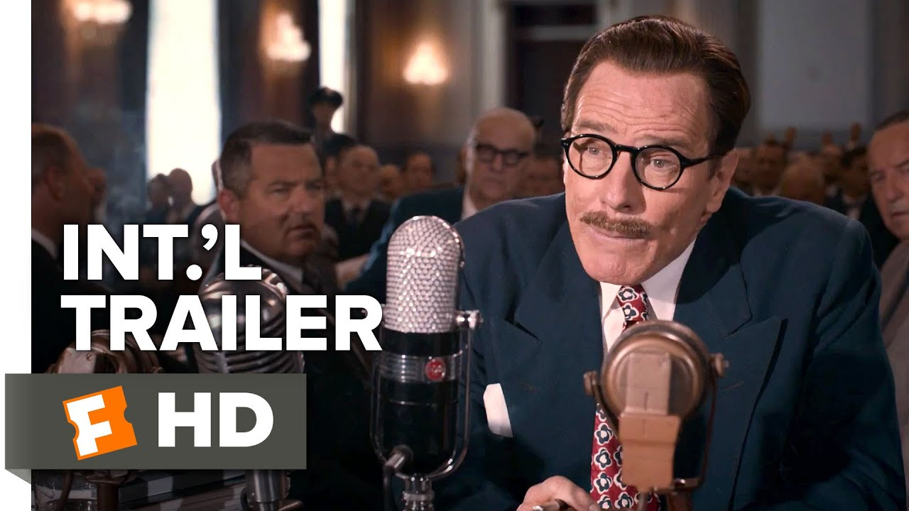 Trumbo Official International Trailer #1 (2015) -  Bryan Cranston, Elle Fanning Drama Movie HD