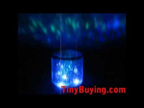 Colorful Night Light Cosmos Projector Star Constellation Lamp Romantic Gift [400709]