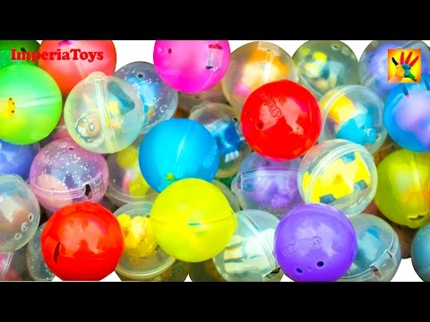 100 Squinkies Surprise Eggs! Mystery Surprise Collection Toy Review