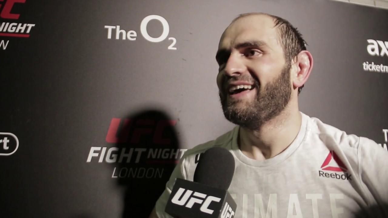 UFC Лондон: Сапарбек Сафаров слова после боя