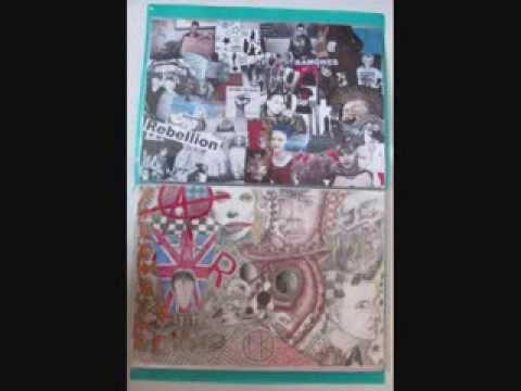 Textiles coursework folder