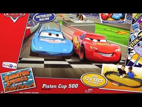 Piston Cup 500 Race Track Set Radiator Springs Classic Toys`R`US Mattel Disney Pixar Cars