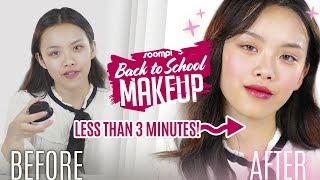 3-MINUTE BACK TO SCHOOL BLUSHED MAKEUP (with hyulari) | #StylebySoompi