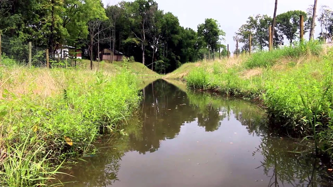 Renewage green infrastructure stormwater wetland system village of