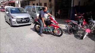 Yamaha LC135 5 Gears Fully Modded - Motodynamics Technology Malaysia