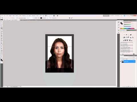 Как сделать из фото 3х4