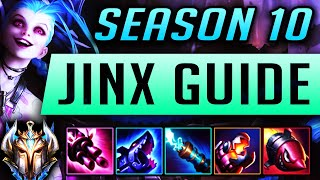 [GOD TIER] JINX GUIDE SEASON 9 (2019) ULTIMATE Guide [BEST RUNES, ITEMS, GAMEPLAY, COMBOS ] | Zoose