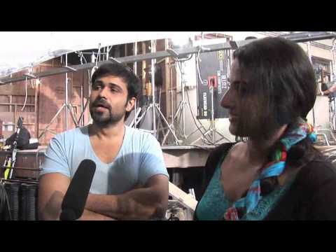 Emraan-Vidya on the sets of 'Ghanchakkar'