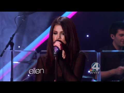 Selena Gomez & The Scene - Love You Like A Love Song  Hd (live) Ellen Degeneres video