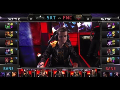 Fnatic vs SK Telecom T1 K | Game 1 Semifinals All-Star 2014 Invitational Day 3 | FNC vs SKT G1