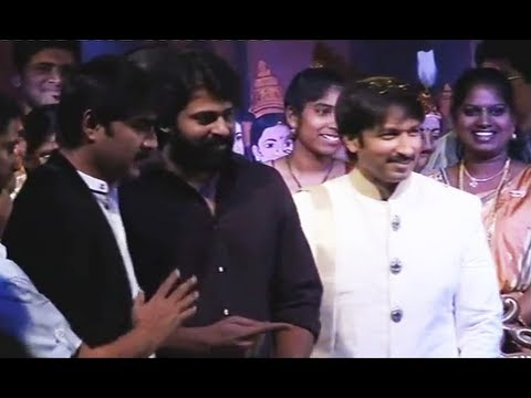 Gopichand  Reshma wedding : marriage reception function Part 1