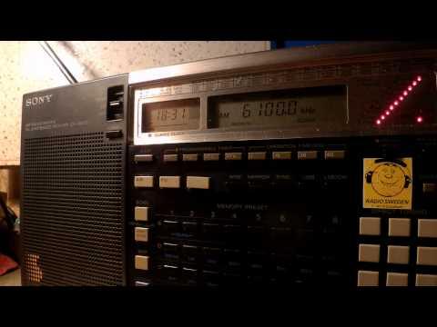 21 07 2015 International Radio Serbia in English to WeEu 1830 on 6100 Bijeljina
