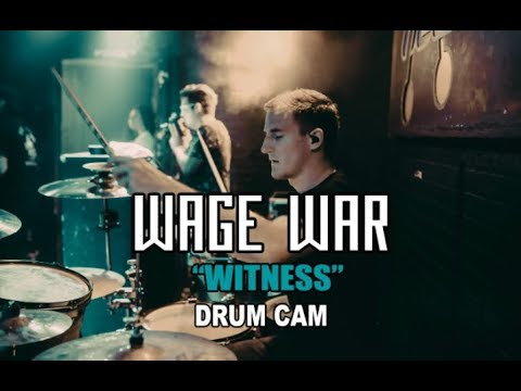 Wage War | Witness | Drum Cam (LIVE) thumbnail