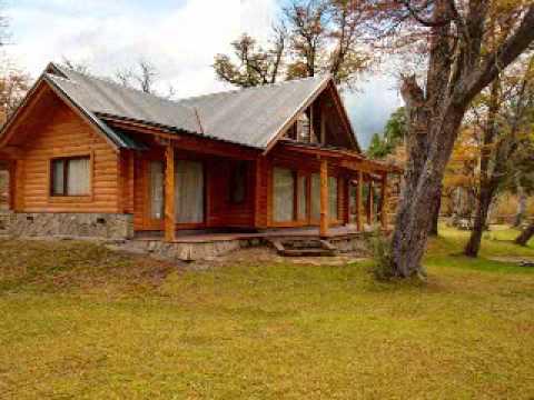 Casas de troncos industrializados patagonia log homes - Casas de madera de troncos ...