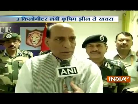 Jammu & Kashmir floods: Rajnath Singh reviews situation, massive rescue operation under way