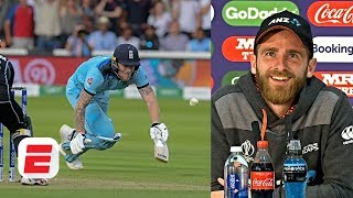 Kane Williamson reacts to the 'uncontrollable' moments of the final | 2019 Cricket World Cup