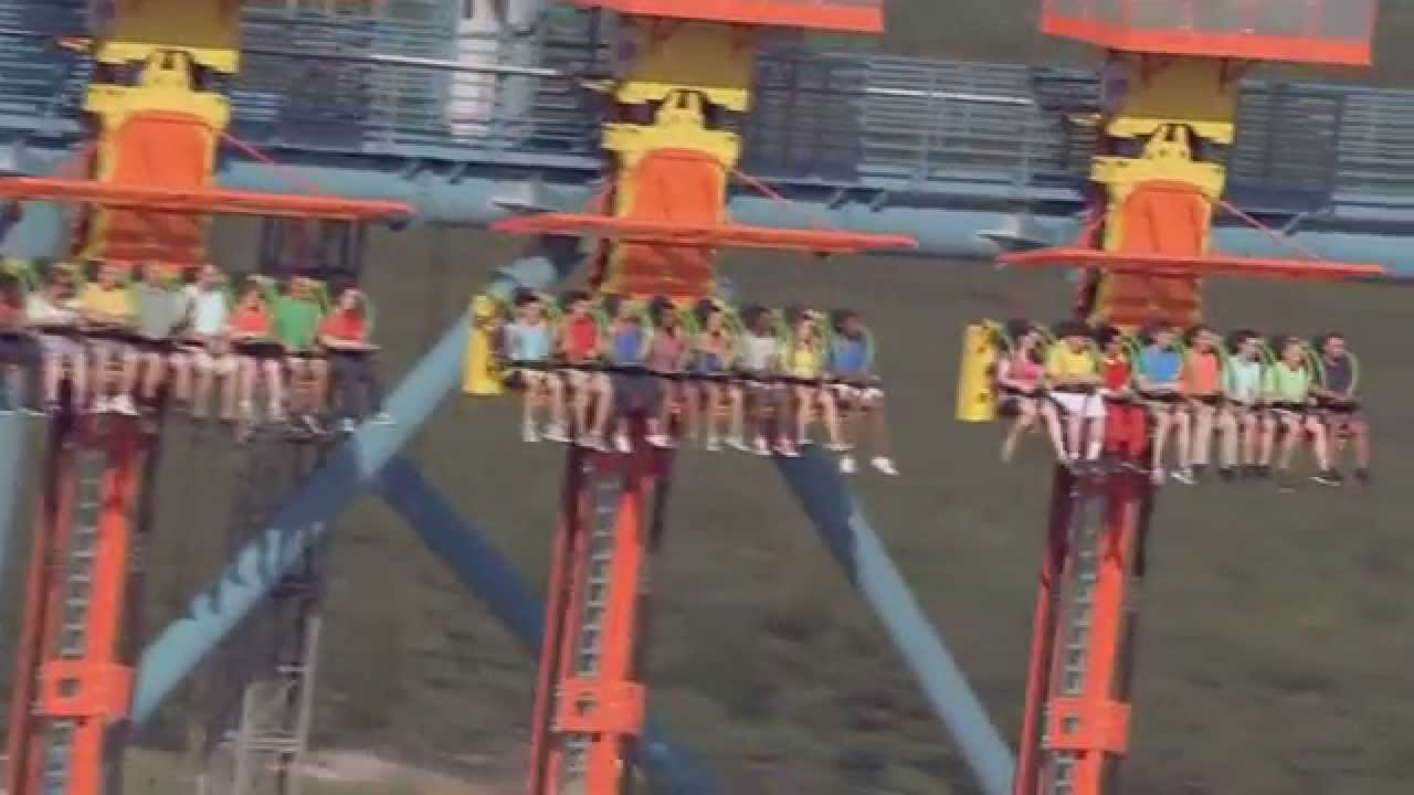 Six Flags Drop of Doom Zumanjaro Drop of Doom at Six