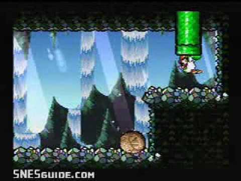 Yoshi's Island - SNES Gameplay