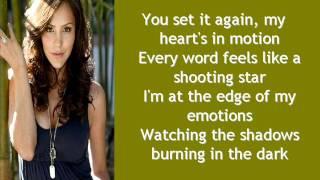 Terrified by Katharine McPhee (Lyrics)