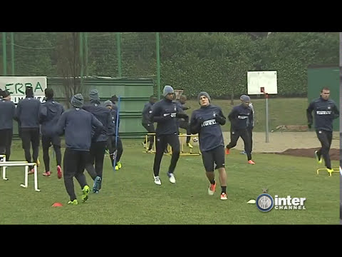 ALLENAMENTO INTER REAL AUDIO 05 02 2014