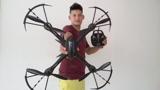 UNBOXING YiZhan I8H 2.4Ghz Excelente Drone